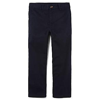 The Children's Place Big Boys' Uniform Chino Pants, New Navy, 16S