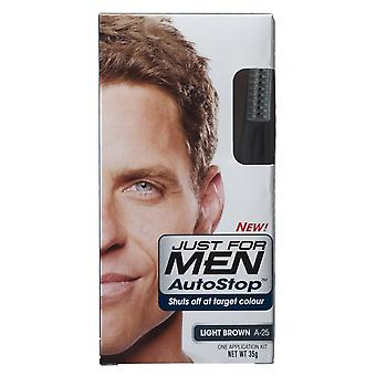 Just For Men 3 X Just For Men AutoStop Hair Colour - A25 Light Brown