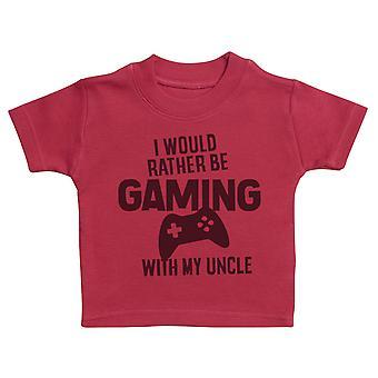 We Would Rather Be Gaming - Matching Set - Baby / Kids T-Shirt & Dad T-Shirt