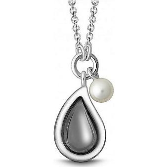 QUINN - Necklace - Silver - Pearl - Moonstone - Freshwater - 27320950