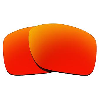Polarized Replacement Lenses for Oakley Turbine Sunglasses Red Anti-Scratch Anti-Glare UV400 by SeekOptics