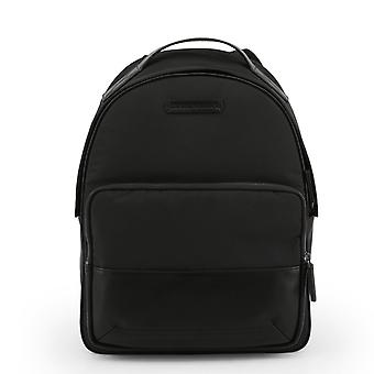 Emporio armani men's backpack, black