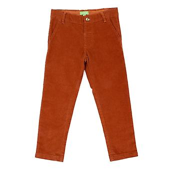Lily Balou Noah Velours Broek Biscuit Brown
