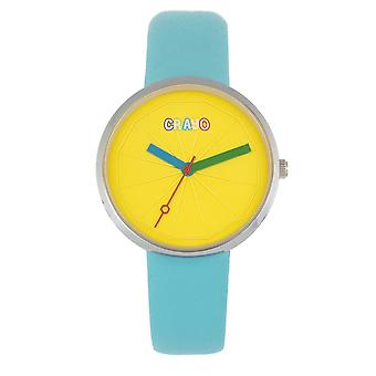 Crayo Metric Unisex Watch - Turquoise
