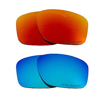 Polarized Replacement Lenses for Oakley Sliver Sunglasses Anti-Scratch Anti-Glare UV400 by SeekOptics