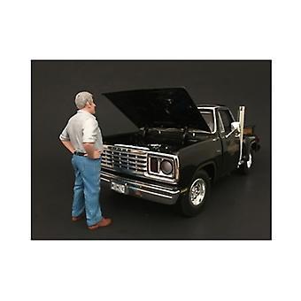 70's Style Figur V Für 1:24 Maßstabsmodelle von American Diorama