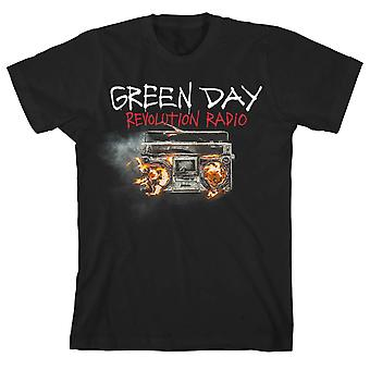 T-shirt officiel de Green Day Revolution Radio Rock Music Punk