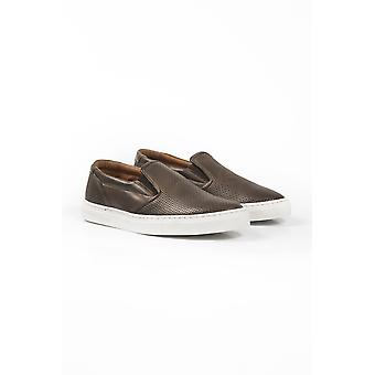 Men's Brown Uominitaliani Sneakers