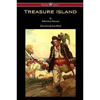 Treasure Island Wisehouse Classics Edition  with original Illustrations by Louis Rhead by Stevenson & Robert Louis