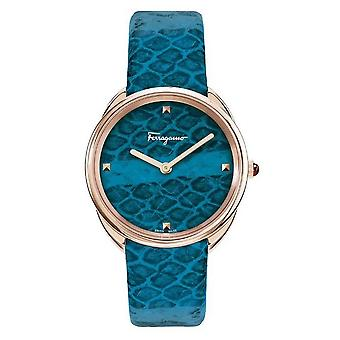 Salvatore Ferragamo Wristwatch Kvinders Quartz Cuir SFAY00319