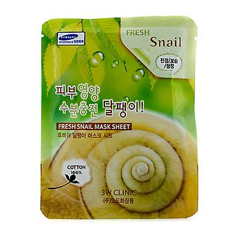 Mask Sheet - Fresh Snail 10pcs