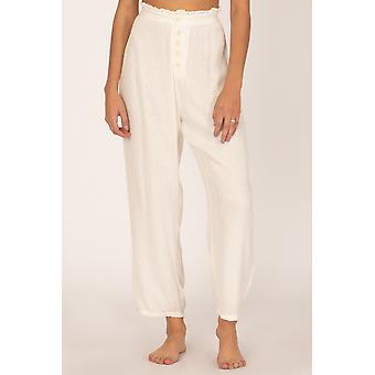 Amuse society billie pant - white