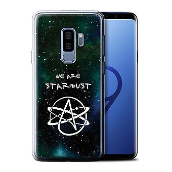 STUFF4 Gel TPU Case/Cover for Samsung Galaxy S9 Plus/G965/We Are Stardust/Atheist Anti-Religion
