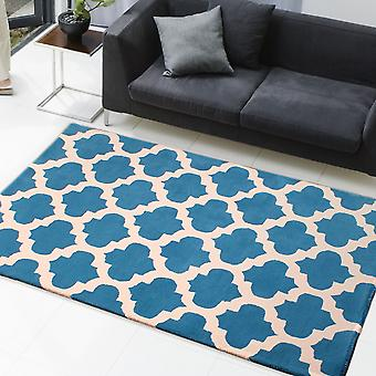 Classico Rugs In Blue & Ivory