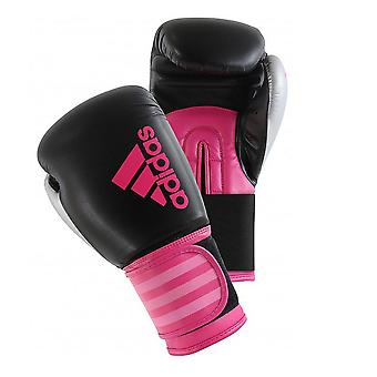 adidas Hybrid Womens Boxing MMA Training Sparring Gloves Black/Pink