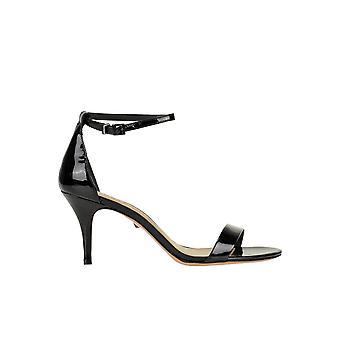 Schutz Ezgl039060 Women's Black Patent Leather Sandals