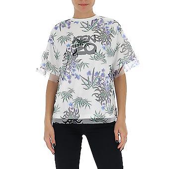 Kenzo Fa52ts62190701 Women's White Cotton T-shirt