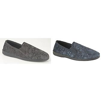 Sleepers Mens Monty Gusset Slippers
