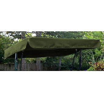 Olive Water Resistant 3 Seater Ersatz Dachdach für Garten Hängematte Swing Sitz