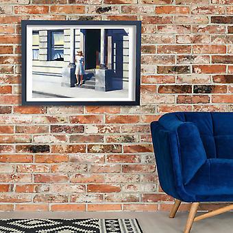 Edward Hopper - Summertime Poster Print Giclee