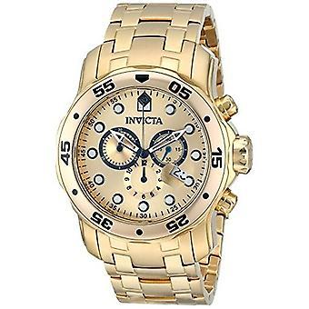 Invicta Pro Diver 0074 acier inoxydable montre chronographe