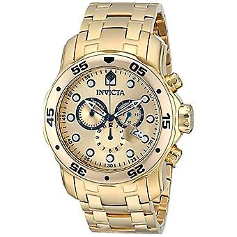 Invicta Pro Diver 0074 Edelstahl Chronograph Uhr