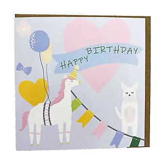 Gubblecote Pinata Birthday Card