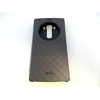 LG Kreis Quick Snap auf Folio Case mit Schlag auf Tech für LG G4-Violett/schwarz