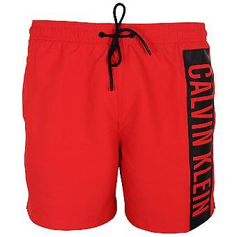 Calvin klein men's high risk medium drawstring swim shorts