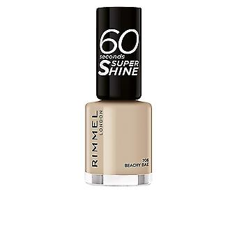 Rimmel London 60 Seconds Super Shine #722-all Nails On Deck 8 Ml For Women