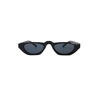 Attitude Clothing Pierced Black Sunglasses