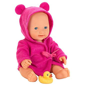 Theo Klein Princess Coralie Bath Doll with Bathrobe