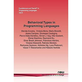 Behavioral Types in Programming Languages by Ancona & Davide