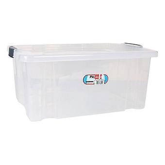 Scatola di stoccaggio con coperchio Premier Trasparente/62 x 40 x 49 cm - 90 L