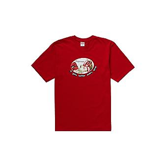 Supreme het wordt steeds beter elke keer Tee Red-kleding