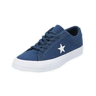 Converse ONE STAR - OX - COUNTRY PRIDE damen herren Sneaker Blau Turn-Schuhe