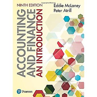 Accounting and Finance - An Introduction 9th edition by Eddie McLaney