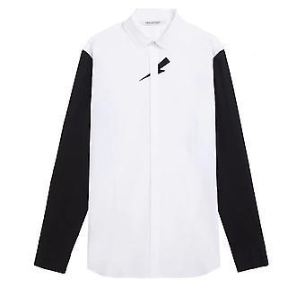 Neil Barrett Tuxedo Mid Velvet Shirt