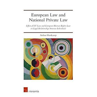 European Law and National Private Law - Effect of EU Law and European