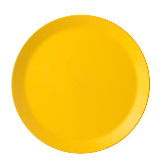 Mepal Bloom Melamine Dinner Plate, Pebble Yellow
