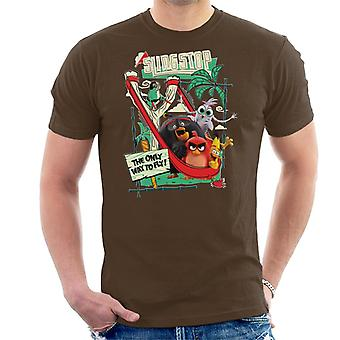Angry Birds Slingstop Men's T-Shirt