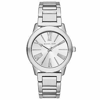 Michael Kors MK3489 Hartman Kolekce Římská číslice Silver Dial Dámské hodinky
