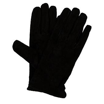 Accessories Only Mille Leather Gloves in Black