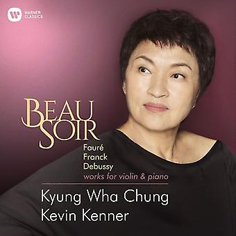 Kyung Wha Chung - Beau Soir (Faure Franck Debussy Elgar Works for) [CD] USA import