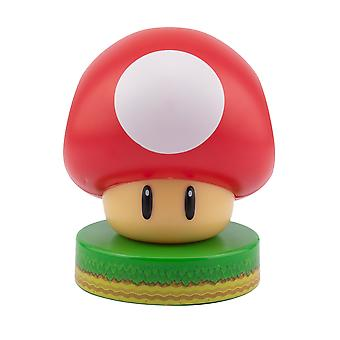 Super Champignon Icône Lumière Offically Licence Super Mario Collectable Light