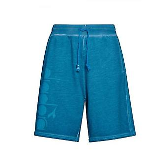 Diadora Blue Jersey Shorts