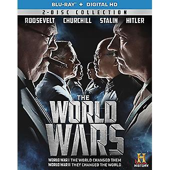 Importer des USA de guerres mondiales [BLU-RAY]