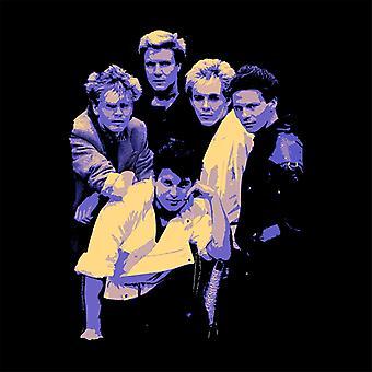 TV Times Duran Duran Band Portrait Blue 1983 Key Ring
