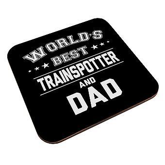 Worlds Best Trainspotter und Papa Untersetzer
