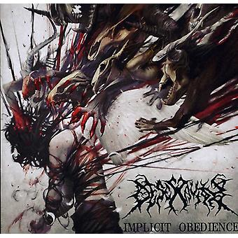 Desecravity - Implicit Obedience [CD] USA import
